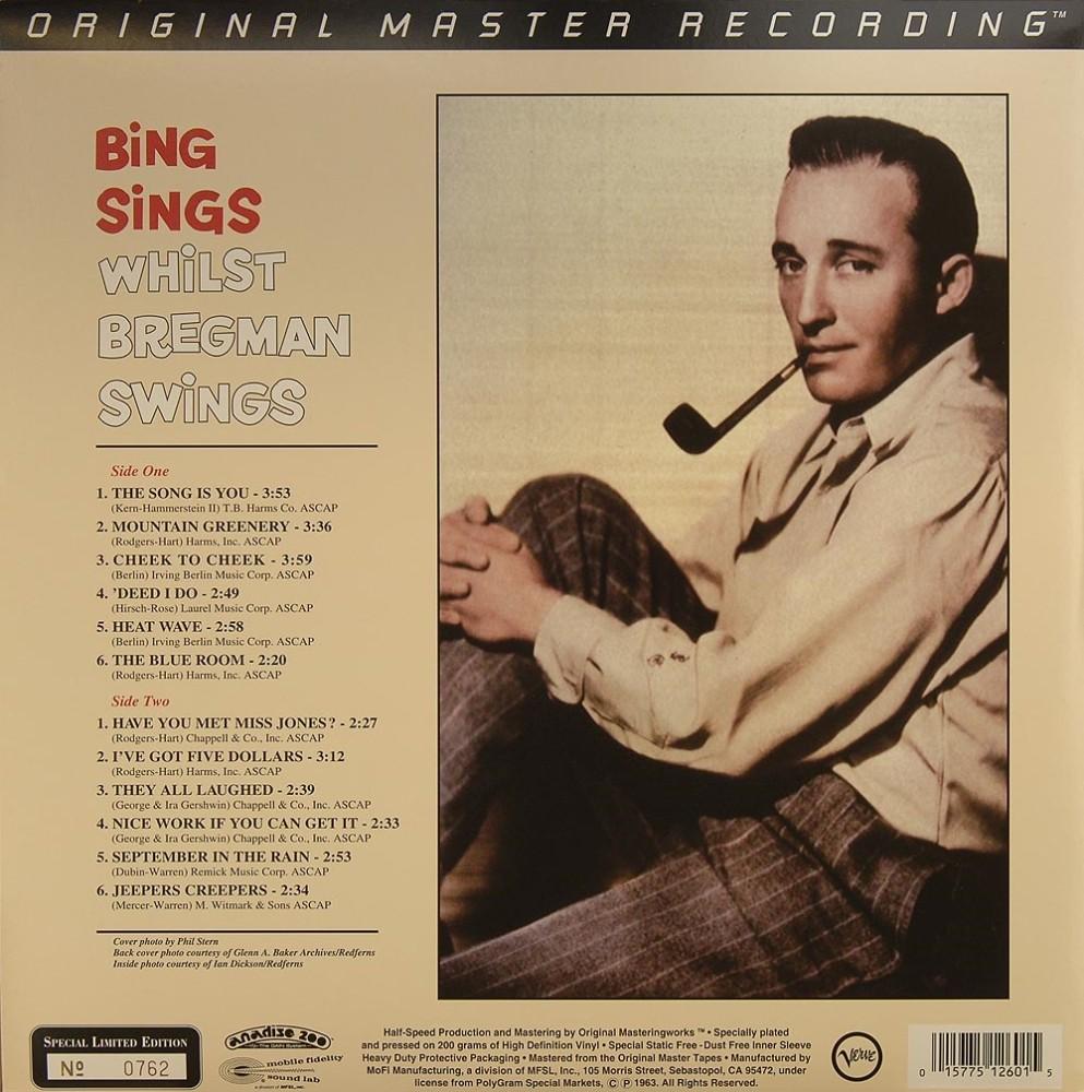 Crosby Bing Amp Bregman Buddy Bing Sings Whilst Bregman