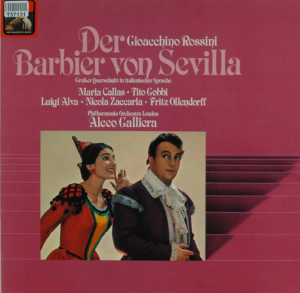gioacchino rossini der barbier von sevilla oper operette klassik gebrauchte lps und cds. Black Bedroom Furniture Sets. Home Design Ideas