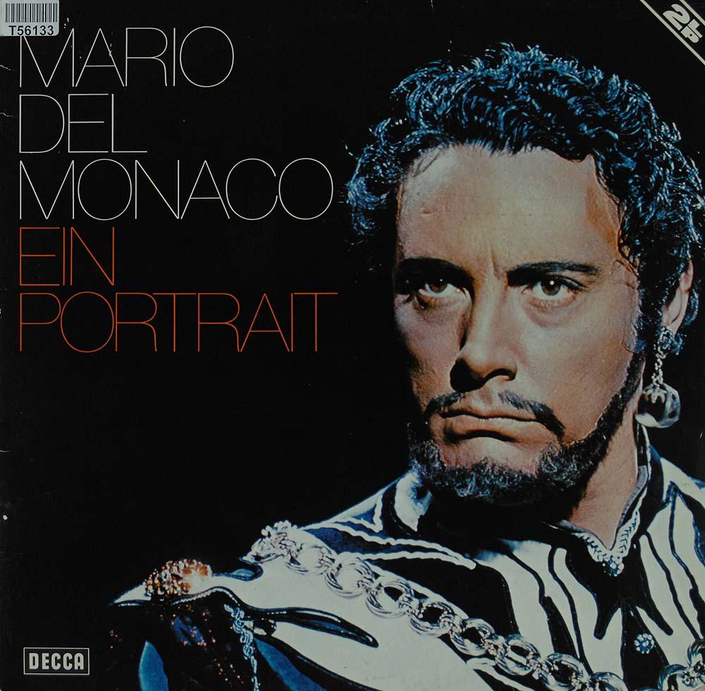 mario del monaco ein portrait oper operette klassik gebrauchte lps und cds kaufen. Black Bedroom Furniture Sets. Home Design Ideas