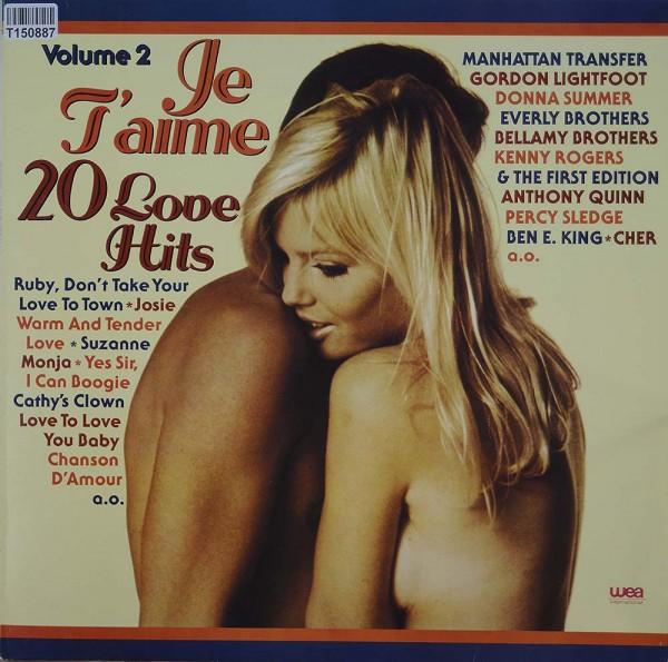 Various: Je T'Aime - 20 Love Hits, Volume 2