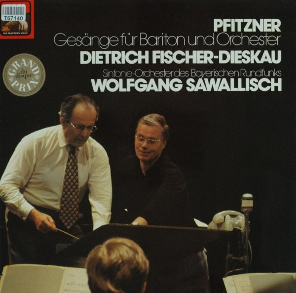 Dietrich Fischer-Dieskau, Wolfgang Sawallis: Hans Pfitzner - Gesänge Fur Baritone Und Orchester