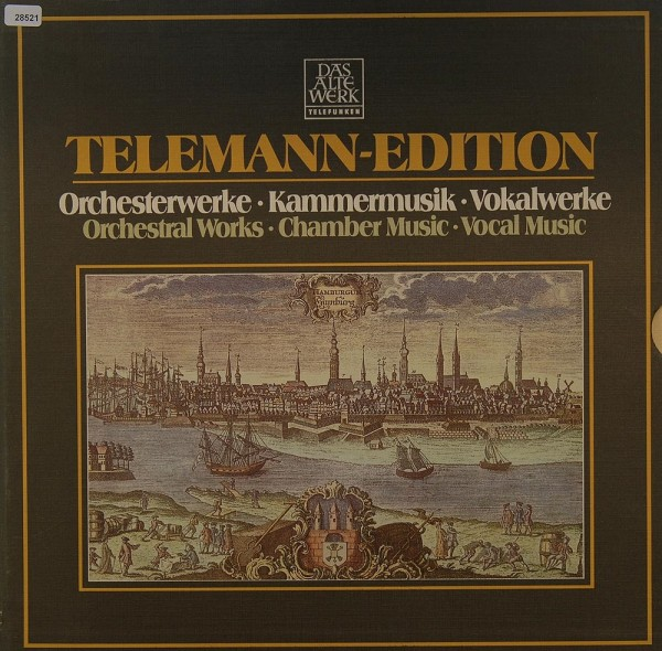 Telemann: Orchesterwerke, Kammermusik, Vokalwerke