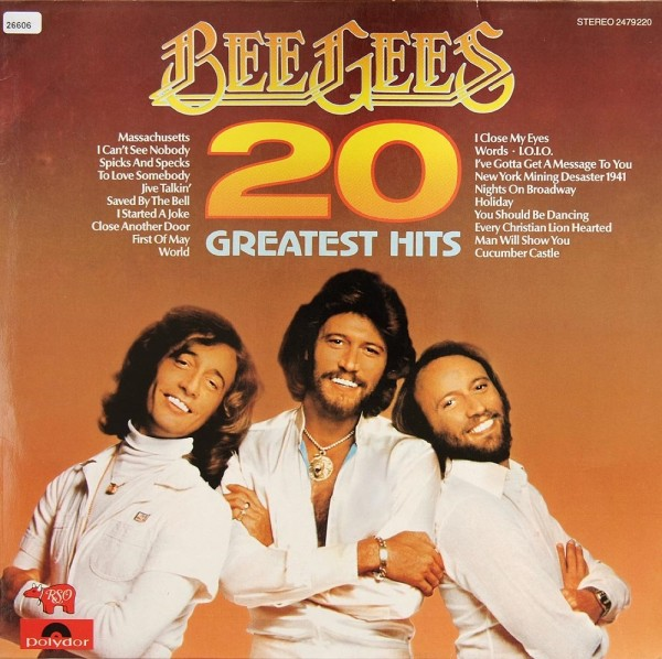 Bee Gees: 20 Greatest Hits