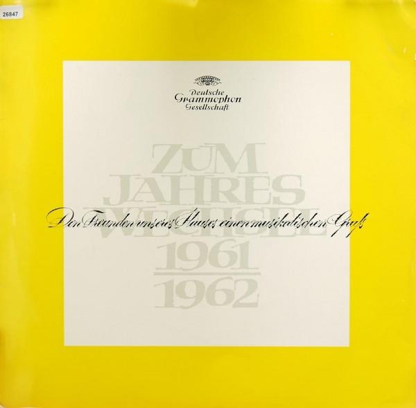 Verschiedene: Zum Jahreswechsel 1961 - 1962