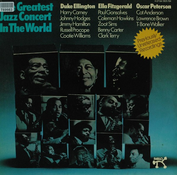 Various: The Greatest Jazz Concert In The World