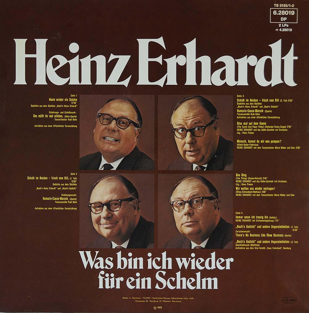 Heinz Erhardt: Was Bin Ich Wieder Für Ein Schelm   Comedy
