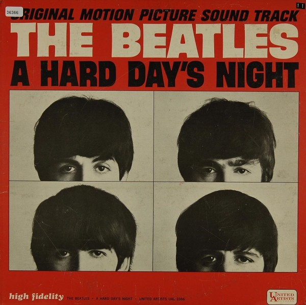 Beatles, The (Soundtrack): A Hard Day´s Night