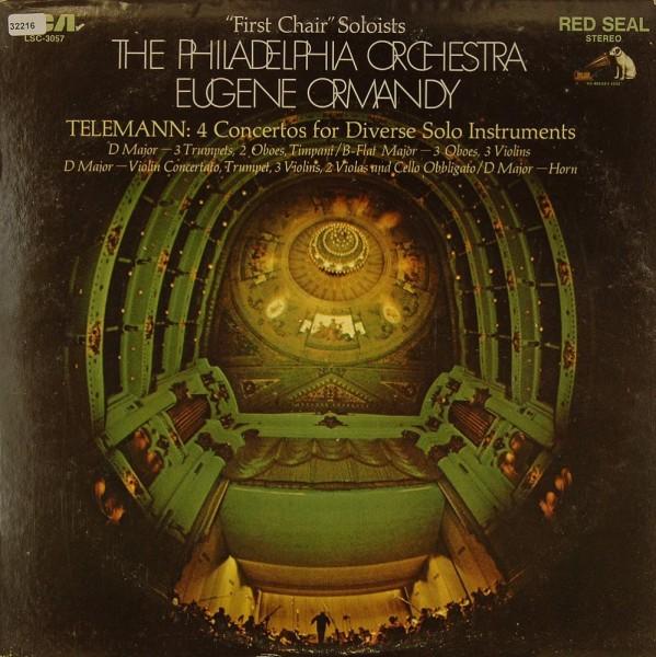 Telemann: 4 Concertos