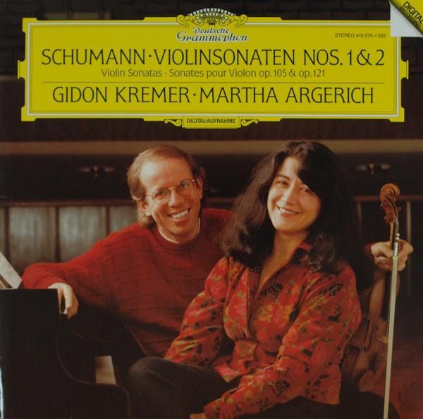 Martha Argerich - Gidon Kremer - Robert Sch: Schumann : Violin Sonatas No. 1&2