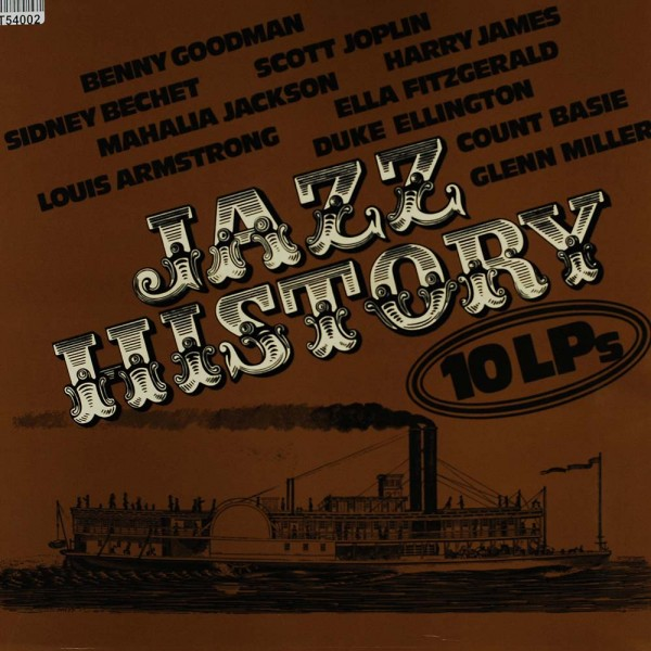Various: Jazz History 10 LPs