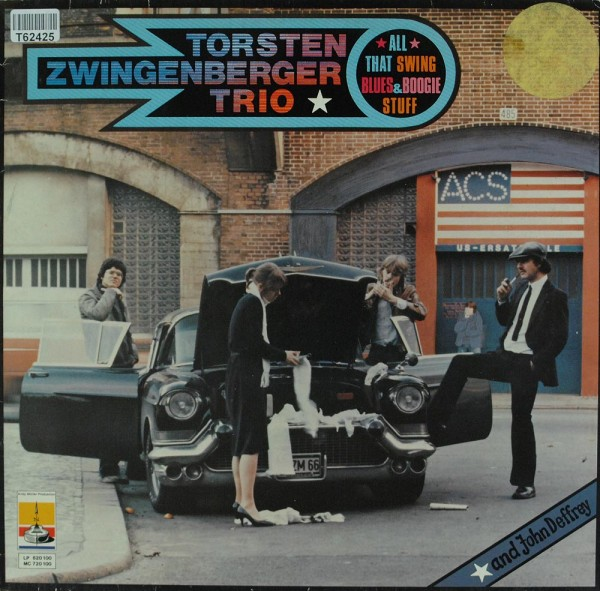 Torsten Zwingenberger Trio: All That Swing Blues & Boogie Stuff