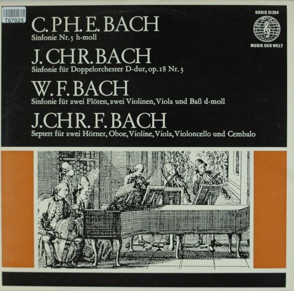 Johann Christoph Friedrich Bach, Johann Chr: Bach-Söhne