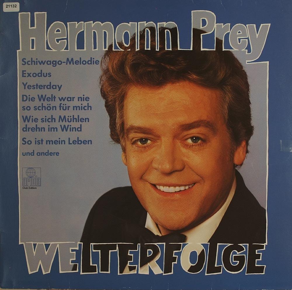 prey hermann welterfolge lieder arien klassik gebrauchte lps und cds kaufen. Black Bedroom Furniture Sets. Home Design Ideas
