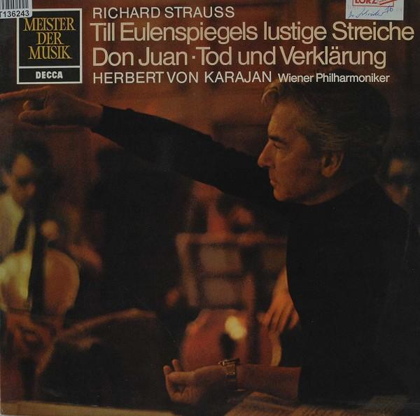 Richard Strauss, Herbert von Karajan, Wiener: Till Eulenspiegels Lustige Streiche ⋅ Don Juan ⋅ Tod U