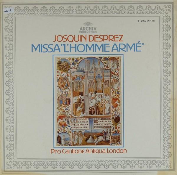 """Desprez / Gombert / Vinders: Missa """"L´Homme Armé"""" / Lamentationes"""