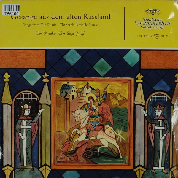 Don Kosaken Chor Serge Jaroff: Gesänge Aus Dem Alten Russland