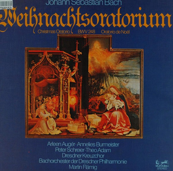 Johann Sebastian Bach, Arleen Auger, Anneli: Weihnachtsoratorium (Christmas Oratorio BWV 248 Oratori