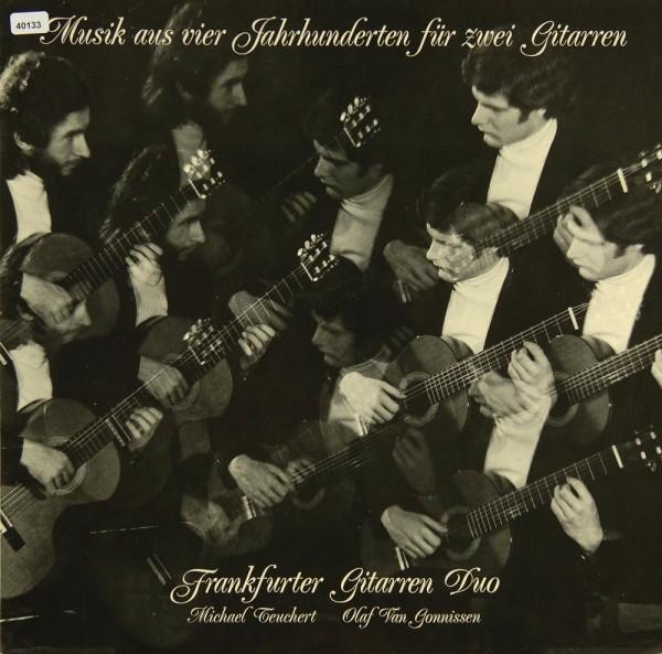 Frankfurter Gitarren-Duo: Musik aus vier Jahrhunderten für zwei Gitarren