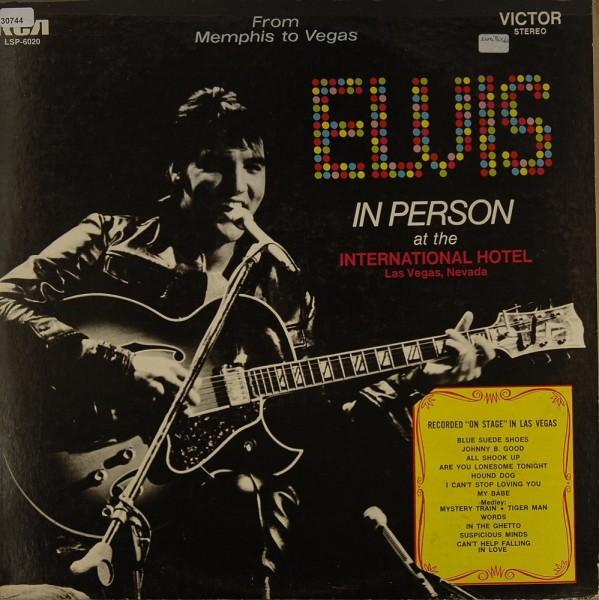 Presley, Elvis: Elvis in Person - Back in Memphis