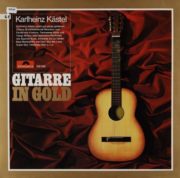 Kästel, Karlheinz: Gitarre in Gold