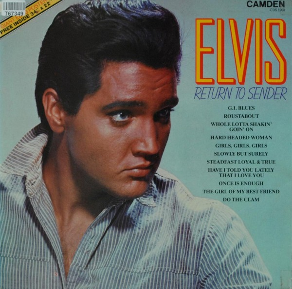 Elvis Presley: Return To Sender