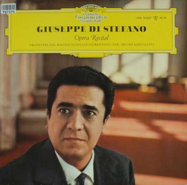 Giuseppe di Stefano, Orchestra Of The Maggi: Great Opera Arias