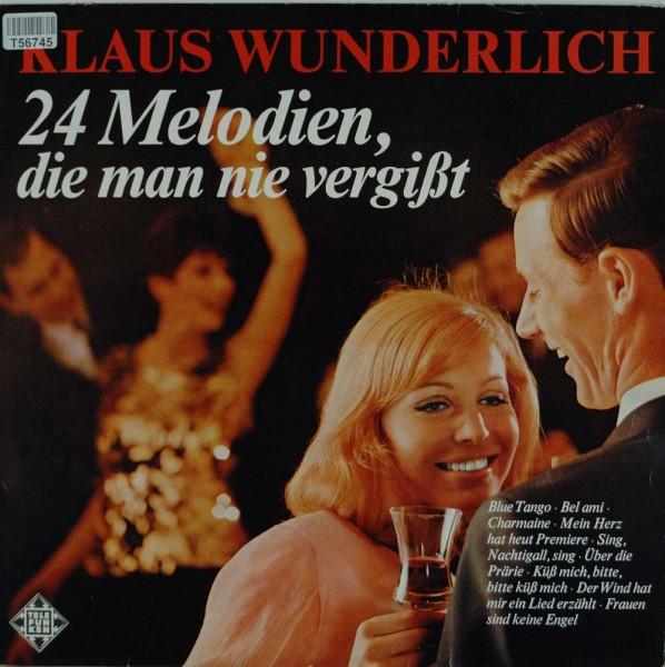 Klaus Wunderlich: 24 Melodien, Die Man Nie Vergißt, Vol. 1
