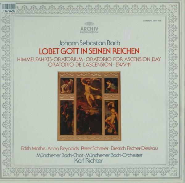 Johann Sebastian Bach - Edith Mathis · Anna: Lobet Gott In Seinen Reichen (Himmelfahrts-Oratorium ·