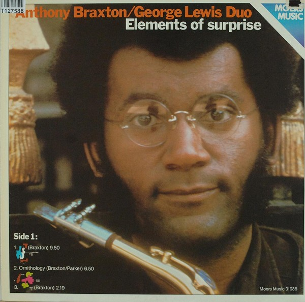 Anthony Braxton/George Lewis Duo: Elements Of Surprise