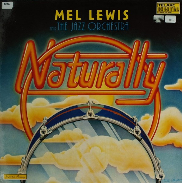 Lewis, Mel & The Jazz Orchestra: Naturally
