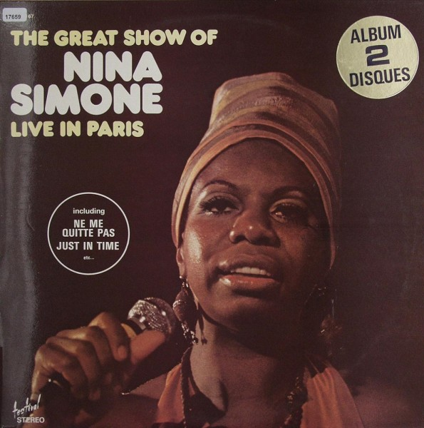 Simone, Nina: The Great Show of N.S. Live in Paris