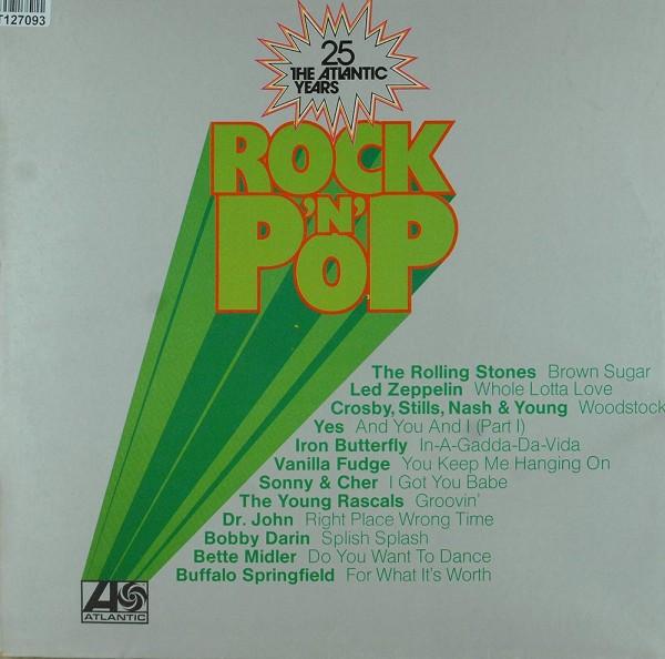 Various: Rock 'N' Pop - 25 The Atlantic Years