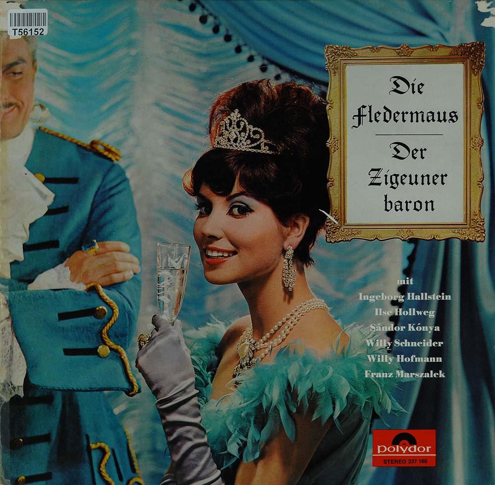 various die fledermaus der zigeunerbaron oper operette klassik gebrauchte lps und cds. Black Bedroom Furniture Sets. Home Design Ideas
