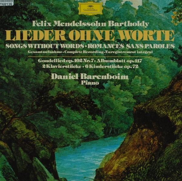 Felix Mendelssohn-Bartholdy - Daniel Barenb: Lieder Ohne Worte