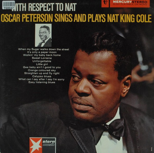 Oscar Peterson / The Oscar Peterson Trio: With Respect To Nat - Oscar Peterson Sings And Plays Na