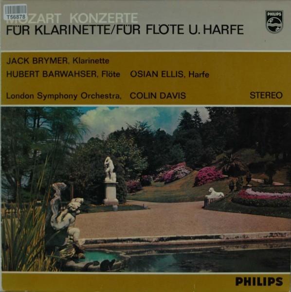 Wolfgang Amadeus Mozart : The London Symphony Orchestra With Sir Colin Davis: Mozart Konzerte Für Kl