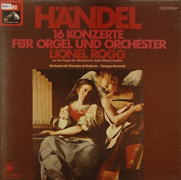 Händel: 16 Konzerte für Orgel und Orchester