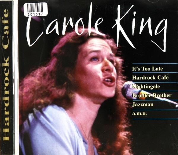 Carole King: Hardrock Cafe