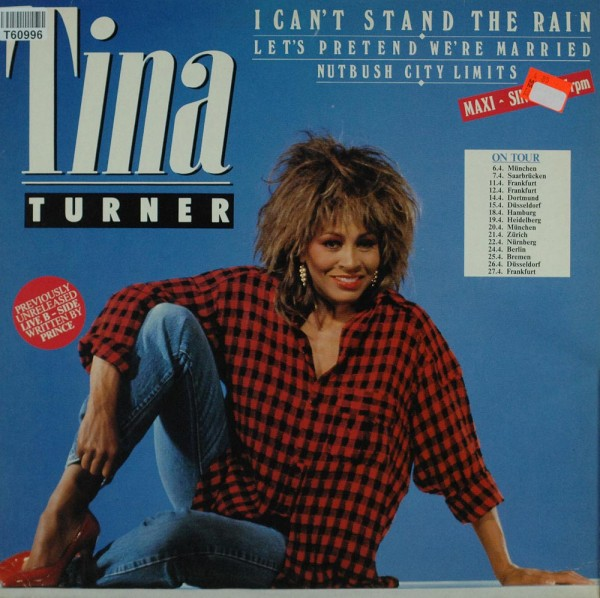 Tina Turner: I Can't Stand The Rain