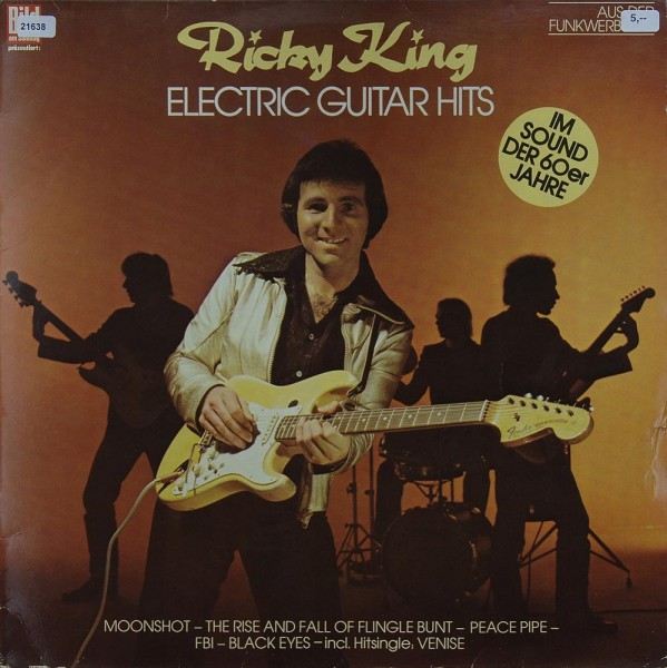 King, Ricky: Electric Guitar Hits