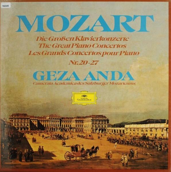 Mozart: Die großen Klavierkonzerte