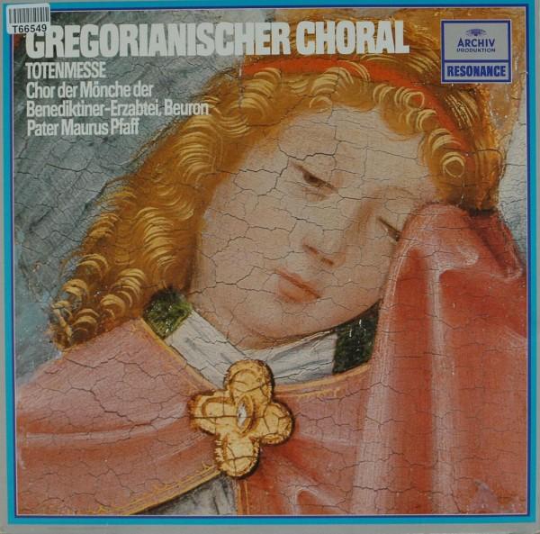 Chor Der Mönche Der Benediktiner-Erzabtei S: Gregorianischer Choral: Totenmesse (Missa In Commemorat