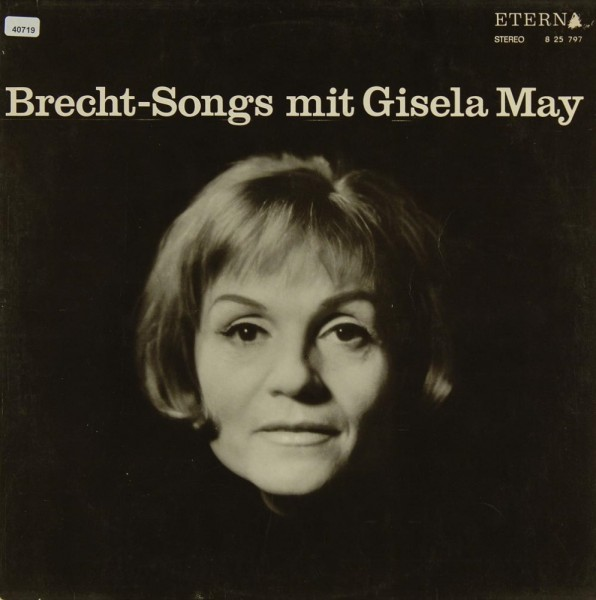May, Gisela: Brecht-Songs