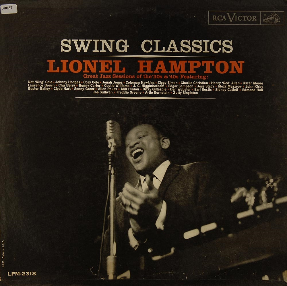 hampton lionel swing classics big band easy listening jazz blues gebrauchte lps und. Black Bedroom Furniture Sets. Home Design Ideas