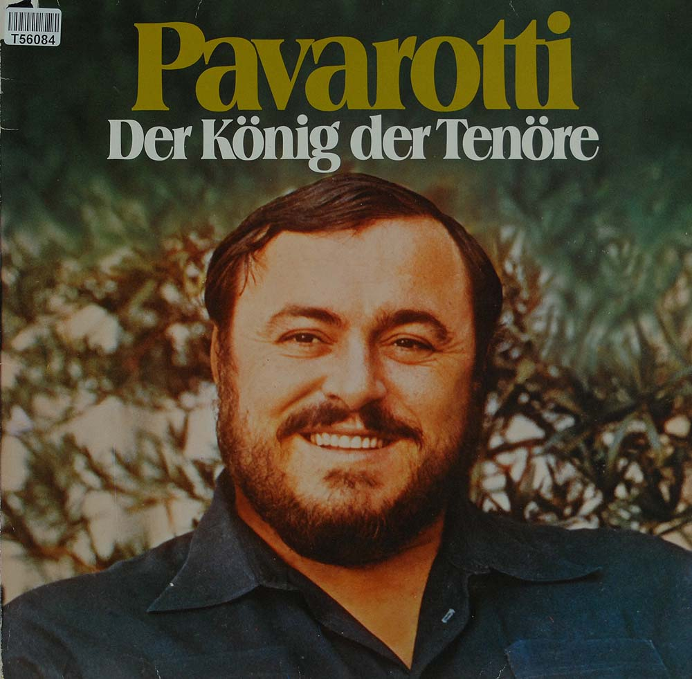 luciano pavarotti der k nig der ten re lieder arien klassik gebrauchte lps und cds. Black Bedroom Furniture Sets. Home Design Ideas