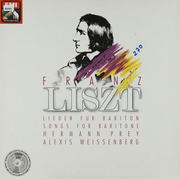 Liszt: Lieder für Bariton