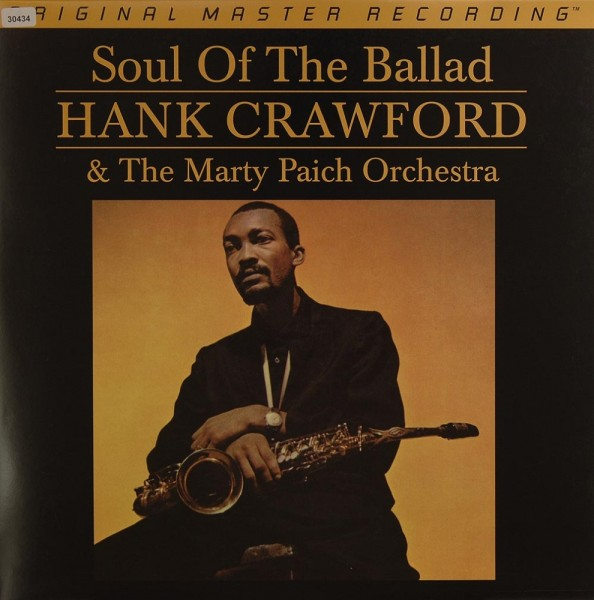 Crawford, Hank & The Marty Paich Orchestra: Soul of the Ballad
