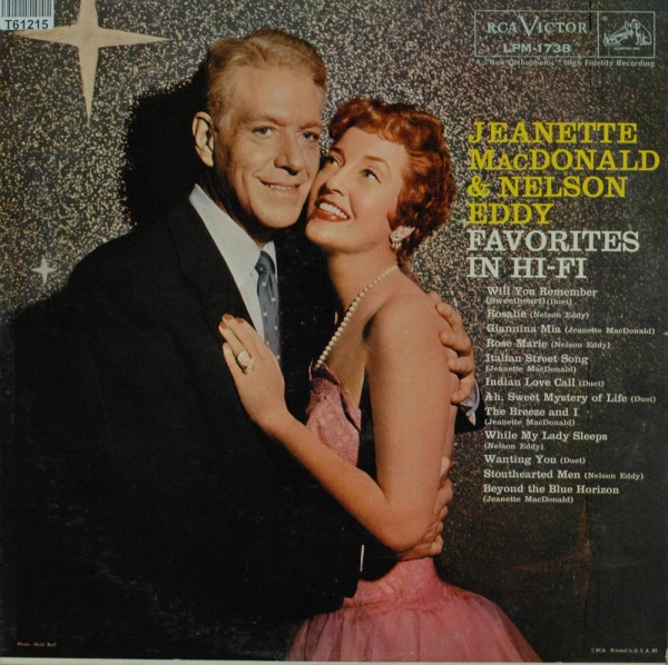 Jeanette MacDonald & Nelson Eddy: Favorites In Hi-Fi