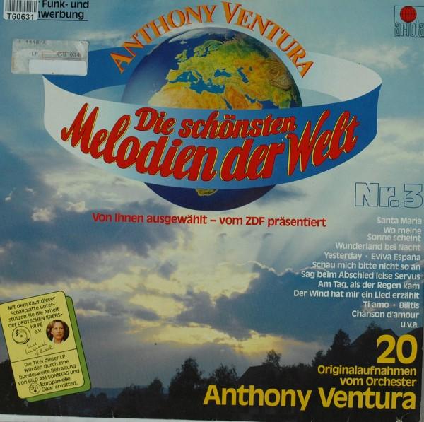 Orchester Anthony Ventura: Die Schönsten Melodien Der Welt Nr. 3