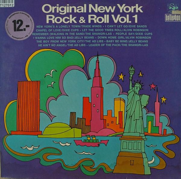 Various: Original New York Rock & Roll Vol. 1